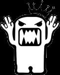 """Наклейка """"Domo Kun Evil"""""""