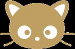 """Наклейка """"Golden cat"""""""