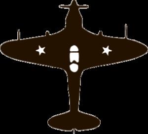 """Наклейка """"самолет-1"""""""