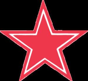 """Наклейка """"сложная звезда"""""""