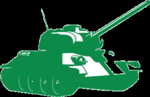 """Наклейка """"танк"""""""