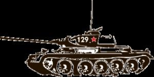 """Наклейка """"танк-2"""""""