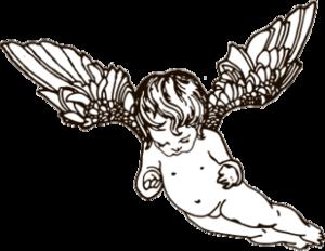"""Наклейка """"маленький ангел"""""""