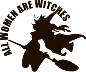 """Наклейка """"All women are witches"""""""