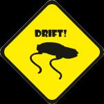 """Наклейка """"JDM drift"""""""