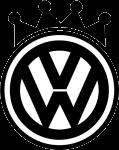 """Наклейка """"VW King"""""""