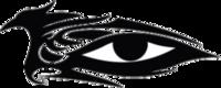 """Наклейка """"глаз птица"""""""