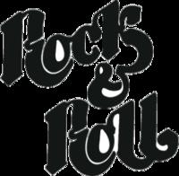 """Наклейка """"Rock & Roll"""""""