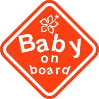 """Наклейка """"Baby on board"""""""