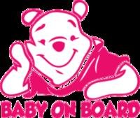 """Наклейка """"Baby on board-4"""""""