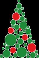 """Наклейка """"Новогодняя елка"""""""