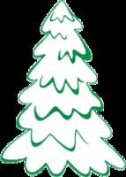 """Наклейка """"Новогодняя елка-1"""""""