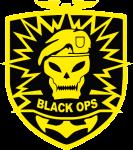 """Наклейка """"Call of Duty Black"""""""