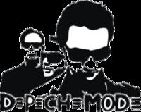 """Наклейка """"Depeche mode"""""""