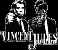 """Наклейка """"Vincent Jules"""""""