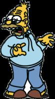 """Наклейка """"Дедушка Simpson"""""""